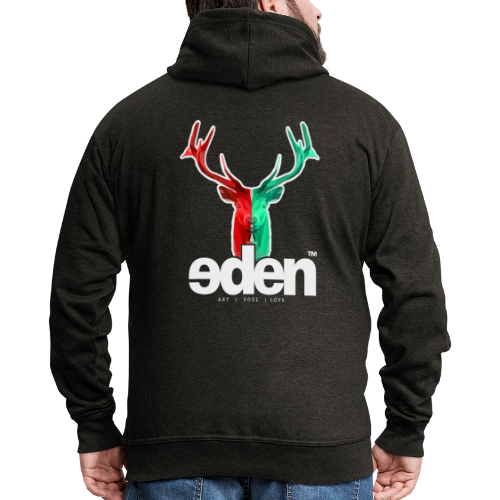 geweihbär EDEN - Männer Premium Kapuzenjacke