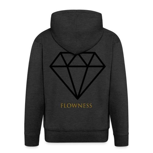 flowness - Chaqueta con capucha premium hombre