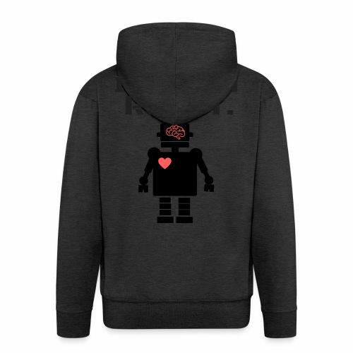 I'm not a robot - Chaqueta con capucha premium hombre
