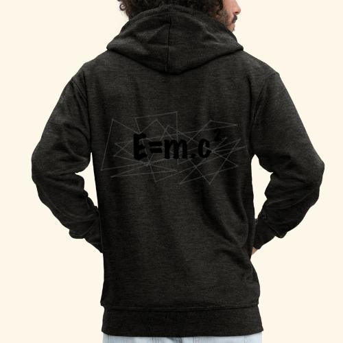 e=m.c^2 - Veste à capuche Premium Homme