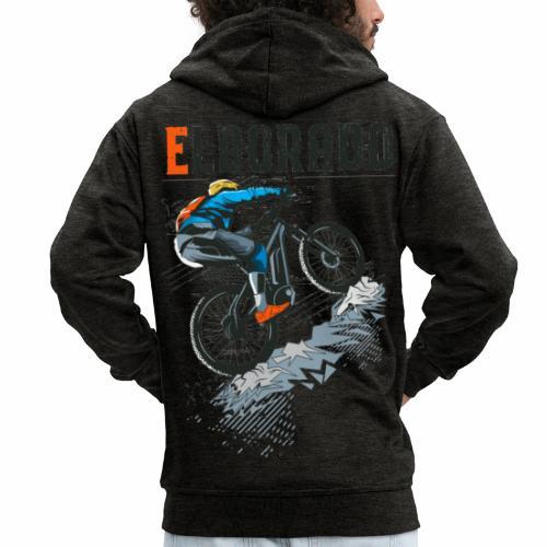 E MTB ELDORADO - Männer Premium Kapuzenjacke