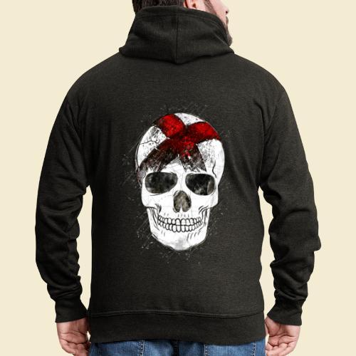 Radball   CycleBall Skull - Männer Premium Kapuzenjacke