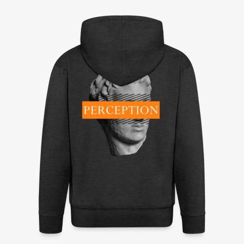 TETE GRECQ ORANGE - PERCEPTION CLOTHING - Veste à capuche Premium Homme
