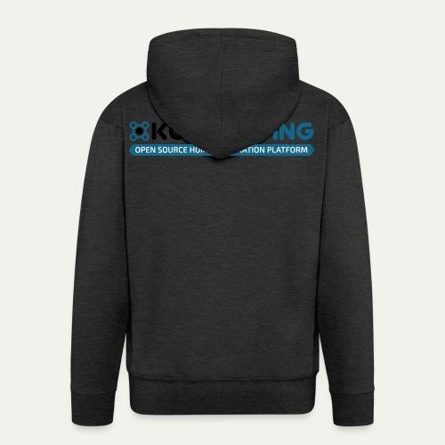 KONNEKTING Logo - Männer Premium Kapuzenjacke