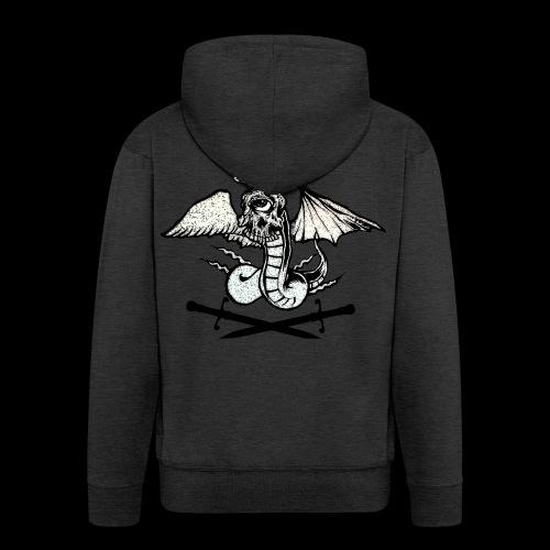 REVENGE ANGEL - Felpa con zip Premium da uomo