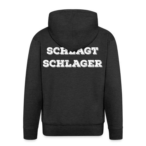 Mein Schlägt Schlager - Mannenjack Premium met capuchon