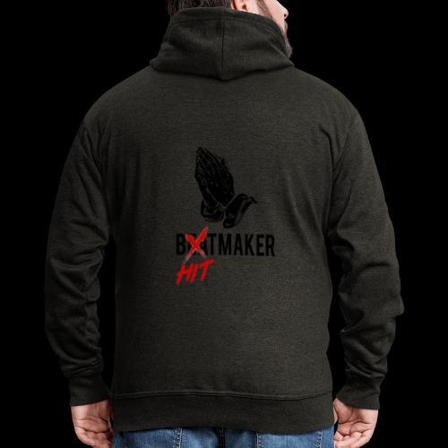 HitMaker Noir - Veste à capuche Premium Homme