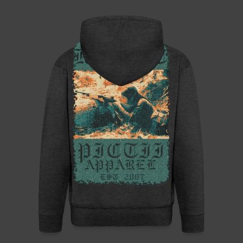 PICTRESIST7 - COL1 - Men's Premium Hooded Jacket