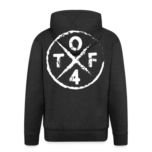 O4TF logo - Männer Premium Kapuzenjacke
