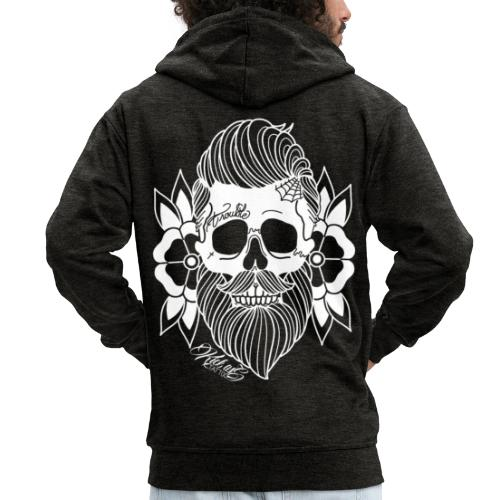 Bearded Skull - Mannenjack Premium met capuchon