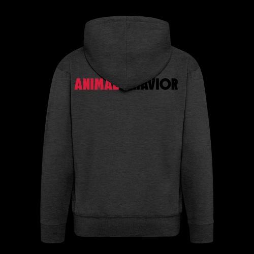 Animal behaviour Type - Männer Premium Kapuzenjacke