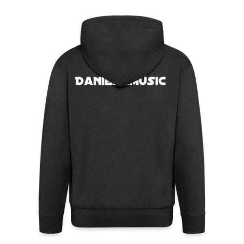 """Inscription """"DanielKMusic"""" - Men's Premium Hooded Jacket"""