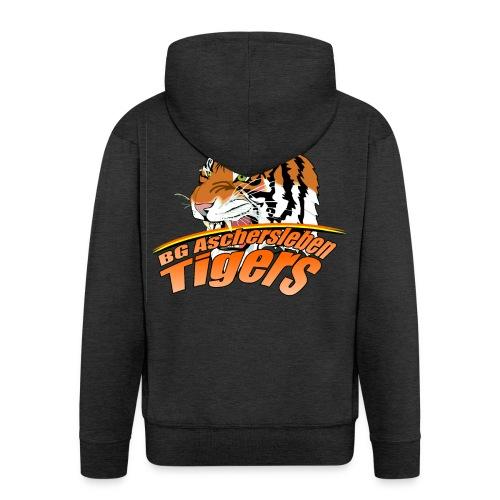 tigerslogo11png - Männer Premium Kapuzenjacke