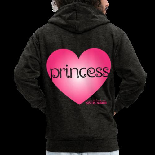 PRINCESS - Miesten premium vetoketjullinen huppari