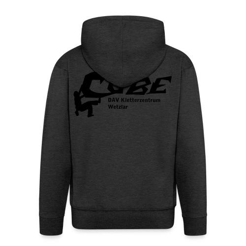 cubelogo - Männer Premium Kapuzenjacke