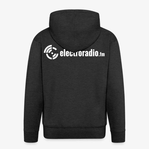 electroradio.fm - Männer Premium Kapuzenjacke