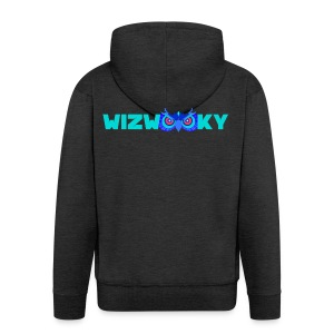 The Official Wizwooky - Men's Premium Hooded Jacket