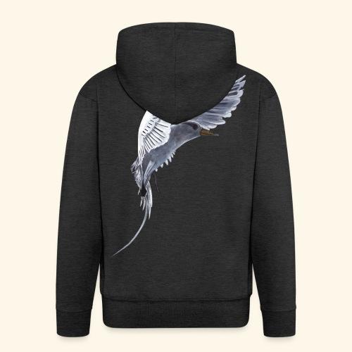 Weißschwanz Tropenvogel - Männer Premium Kapuzenjacke