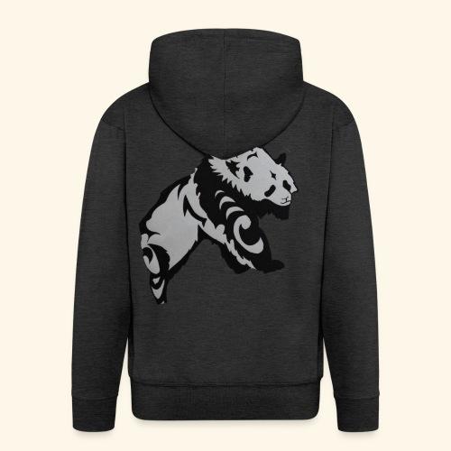 Dessin Panda tribal - Veste à capuche Premium Homme