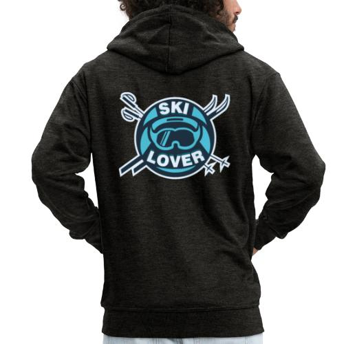 Winter Sports Ski Lover - Men's Premium Hooded Jacket