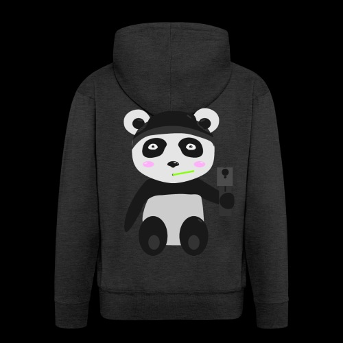 Gangsta-Panda - Männer Premium Kapuzenjacke