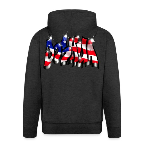 GRAFFITI JOSHUA USA STYLE PRINTABLE ON EVERYTHING - Veste à capuche Premium Homme