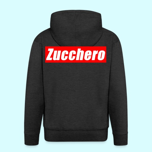 Zucchero Box Red - Men's Premium Hooded Jacket