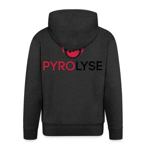 Pyrolyse Logo klein - Männer Premium Kapuzenjacke