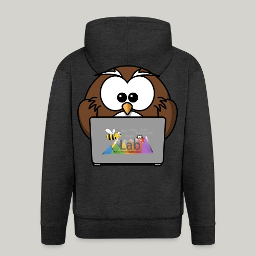 iLab.Owl - Men's Premium Hooded Jacket