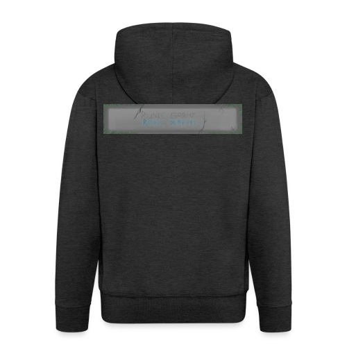 RUNIC_GARMZ - Men's Premium Hooded Jacket