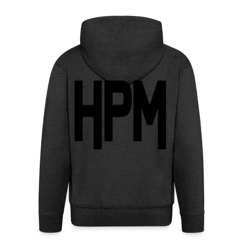 HPM LOGO - Herre premium hættejakke