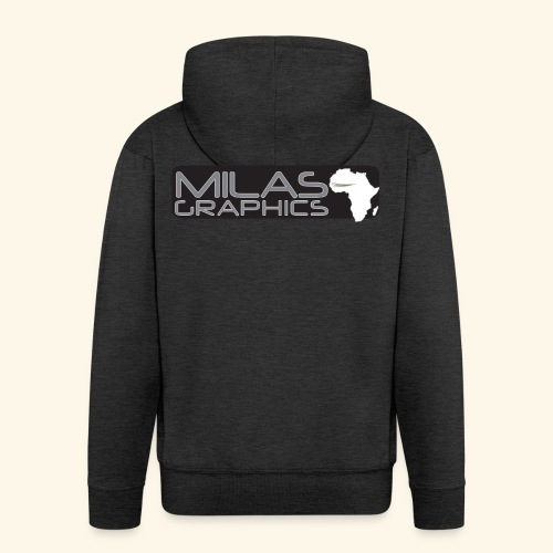 Milas Graphics Africa - Veste à capuche Premium Homme