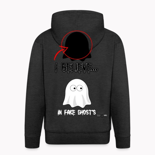 Lokey Reviews Official Spooky Ass Sunday Design - Men's Premium Hooded Jacket