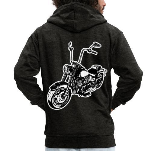 Moto Softail - Chaqueta con capucha premium hombre