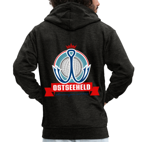 geweihbär Ostseeheld - Männer Premium Kapuzenjacke
