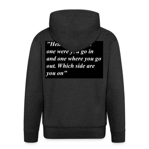 Hell - Men's Premium Hooded Jacket