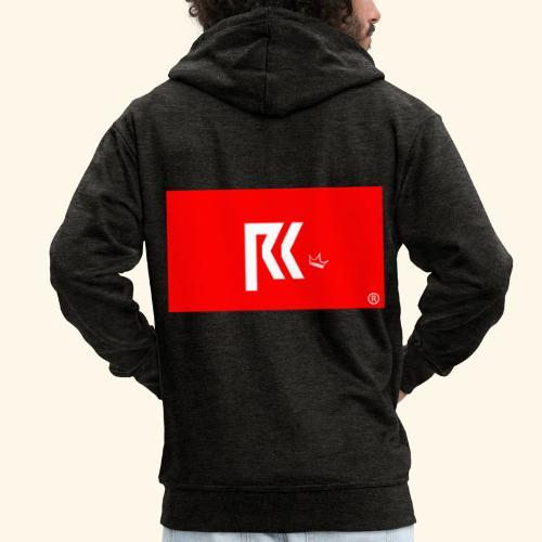 RK Official Design - Männer Premium Kapuzenjacke