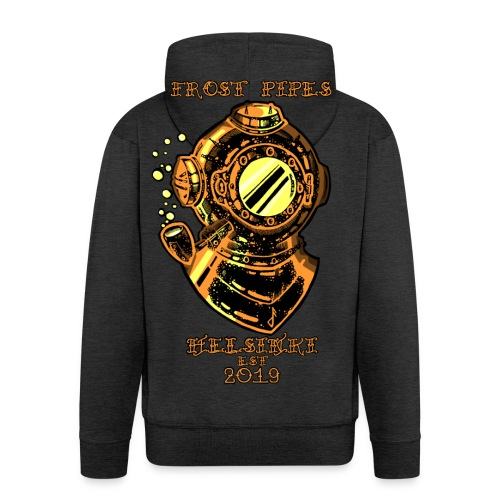 Brass Nautical Piper LIMITED EDITION - Men's Premium Hooded Jacket