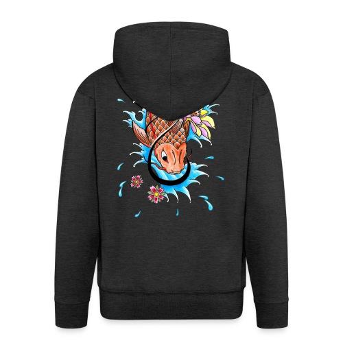 Koi Fish - Men's Premium Hooded Jacket
