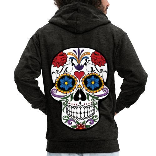 skull catrina - Chaqueta con capucha premium hombre
