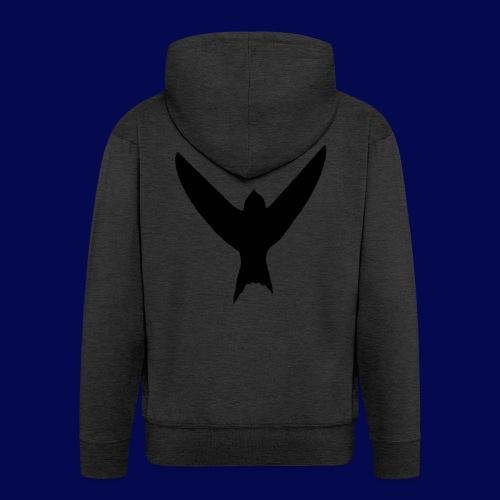 Bird Design - Men's Premium Hooded Jacket