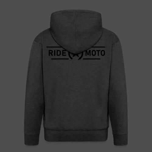 ride moto killschalter Logo - Männer Premium Kapuzenjacke