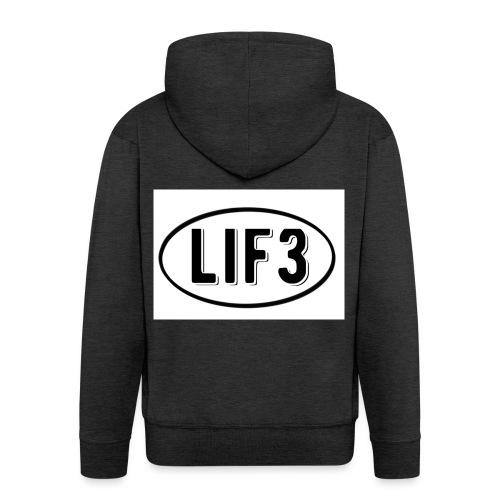 Lif3 gear - Men's Premium Hooded Jacket