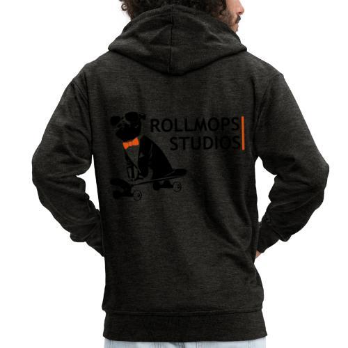Rollmopsstudios - Männer Premium Kapuzenjacke