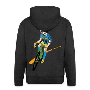 The Bicycle Girl - Männer Premium Kapuzenjacke
