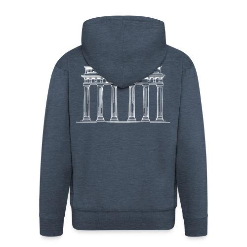 Brandenburger Tor Berlin Victoria Streitwagen - Männer Premium Kapuzenjacke