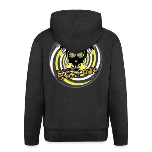 Swirly Quinn - Men's Premium Hooded Jacket