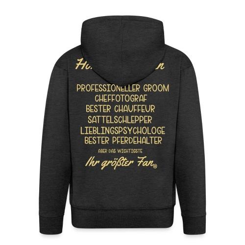 Horsey Ehemann - Turniertrottel - Männer Premium Kapuzenjacke