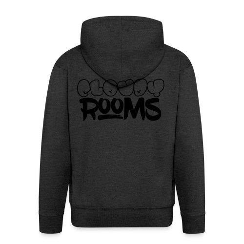 Cloudy Rooms OG Logo - Men's Premium Hooded Jacket