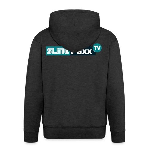 Logo SlinePaxxTV - Männer Premium Kapuzenjacke